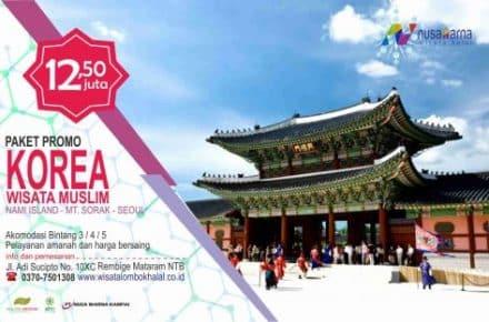 Paket Wisata Korea Nami Island 5D